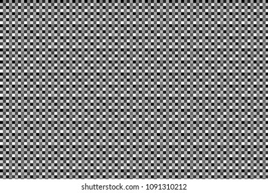 Background of black, white and grey squares