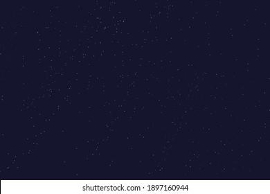 background of blue starry sky