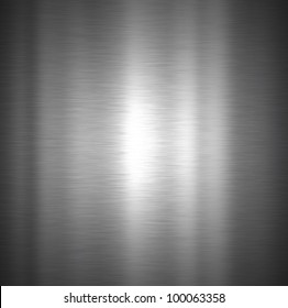 Background with a brushed metal texture