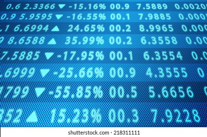 Background business, abstract image of a computer screen of abstract stock market data