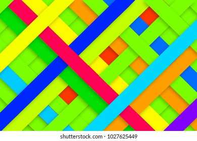Background composed of colorfull lines