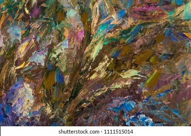 background, drawing, painting, painted with oil paints. painting masters. Irises abstract pattern from the picture.