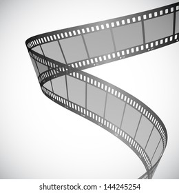 Background with film strip