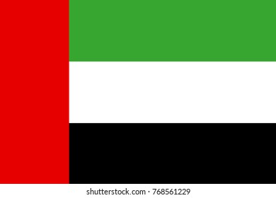background and flag and united arab emirates and country in middle east
