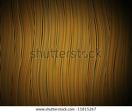 a background of flowing yellow strands