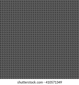 Background geometric pattern Embossed gray circle on a square grid .