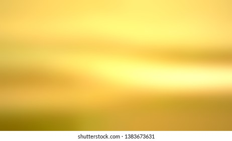 Background gradient image without focus with Golden Yellow color. Template for newsletter.