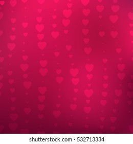 Background Hearts Great Birthday Baby Shower Stock Illustration