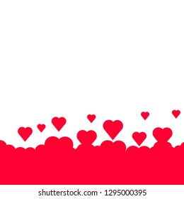 Background with hearts for Valentine's Day, Women's Day, Mother's Day, Anniversary and Birthday.