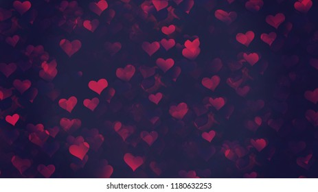 Background Hearts Wallpaper