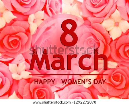 Background For Holiday Weddings Birthdays And Particular Days March 8 Festive