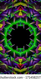 background kaleidoscope, mandala, abstract computer-generated