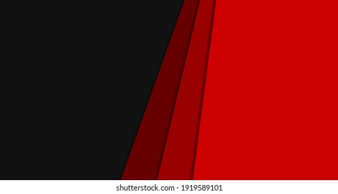 background modern template design for web red and black pattern visiting card  Abstract geometric wallpaper