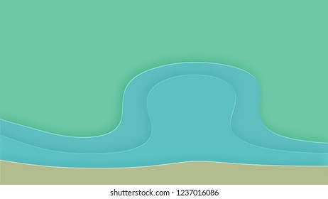 Background in paper style. Abstract colored background. - Shutterstock ID 1237016086