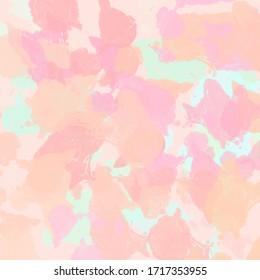 Background patterns pastel in pink blue mint orange