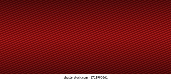 Background Of Red with angled stripes for design web backdrop. Radial gradient graphics for digital image widescreen