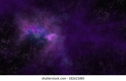 Background of space with stars.