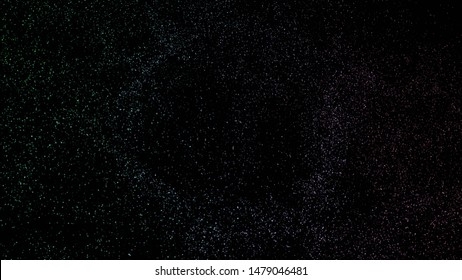 Background with a variety of multicolored stars. Big and small.