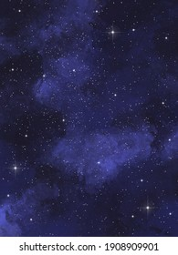 Backgrounds with magic space and nature