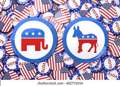 Badge against vote button