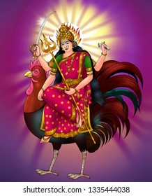 Bahuchara Mata is a Hindu goddess of chastity and fertility in her Maiden aspect, of the incarnation of the Mother aspect of Shakti.