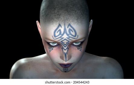 Bald & Tattooed
