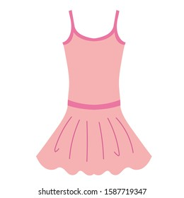 the ballet dance leotard illustration