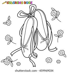 Ballet Coloring Pages High Res Stock Images Shutterstock