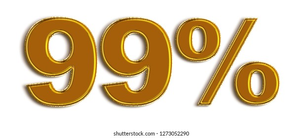 Balloon 99 Percent off 3d Sign on White Background, Special Offer 99% Discount Tag, Sale Up to 99 Percent Off,big offer, Sale, Special Offer Label, Sticker, Tag, Banner, Advertising, offer Icon