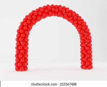 Balloon Frame And Arch