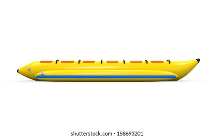 Banana Boat Isolated