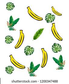 Banana Hawaii Pattern