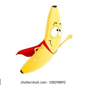banana superhero
