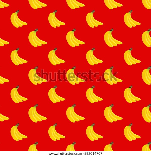 Bananas seamless pattern