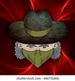 bandit with textures