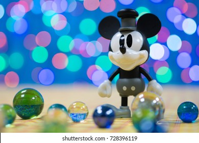 Bangkok, Thailand - OCT 05, 2017: Mickey mouse disney animal animation