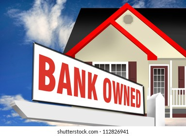 Bank Owned Home.