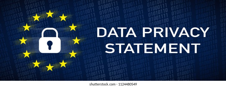 banner data privacy statement