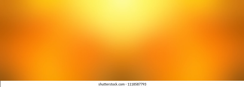 Banner elite gold glow. Yellow orange blurred background. Luxury abstract texture. Amber empty template. Honey or natural oil colors defocused illustration.