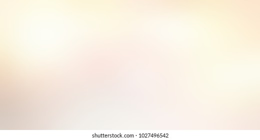 Banner light beige. Empty background holiday. Abstract texture white yellow. Blurred illustration cream. Defocus template wedding.