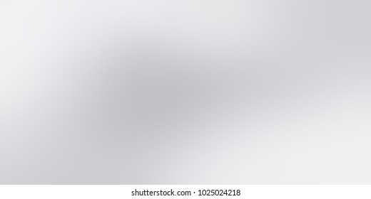 Banner pale grey silver abstract texture. Steel empty background. Metal lights defocused template.