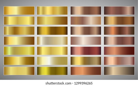 Banners with gold and bronze gradient texture backgrounds. Website headers. Golden and beige mesh design for your banners, headers, footers, flyers, cards, posters, report etc.