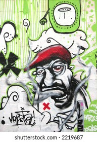 Barcelona Graffiti, Red Hat
