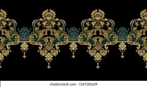 Baroque design, luxury European design