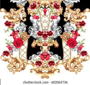 baroque flower