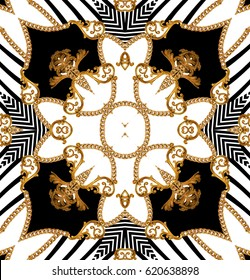 baroque geometric pattern