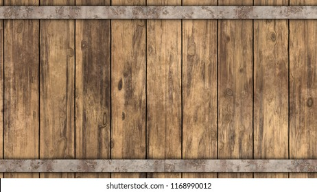 Barrel Wood Background
