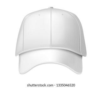 Baseball cap isolated on white background. 3d illustration.