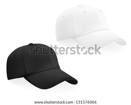 baseball caps template stock illustration 131576066 shutterstock