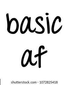 basic af art